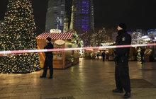 Masakr na vánočních trzích: Šílenec vjel do davu lidí!