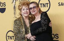Debbie Reynolds odešla za svou dcerou! Před smrtí špitla: Chci být s Carrie