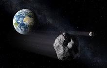 V pondělí, zatímco jste obědvali, Zemi těsně minul asteroid!