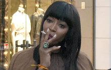 Topmodelka Naomi Campbell (46): Marný boj s nikotinem!