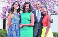 Holky Obamky vyrostly do krásy!