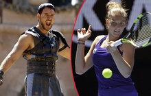 Russell Crowe a Plíšková: Pochvala od gladiátora!