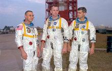 50 let od amerických astronautů!