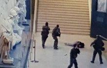 Další teroristický útok v Paříži: Krvavé drama u Louvru!