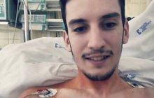 Vážně nemocný Petr (23): Jak přežít rakovinu a nezbláznit se!