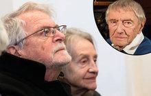 Pohřeb režiséra Mišky (†97): Přišla i vážně nemocná Divíšková!