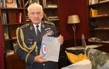 Poslední žijící český pilot RAF Emil Boček (96): Obdrží druhý Řád Bílého lva!