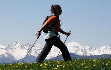 Nordic walking? Sport vhodný opravdu pro každého!