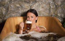 Pivní lázně: Prospějí naší pokožce a jsou dobré i v období chřipek!