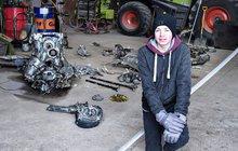 Unikátní nález dánského školáka: Na poli vykopal messerschmitt!