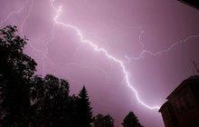 První letošní bouřka: Na Strakonicku a Klatovsku se blýskalo!