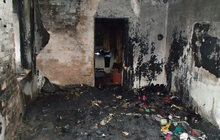 Pokoj vyhořel od přímotopu!