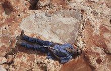 »Australský Jurský park«: 170 cm dlouhá stopa dinosaura!