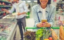 Srovnání mezi lety 2007 a 2017: Potravin si koupíme víc! Jen máslo a jogurt nám to kazí...
