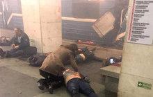 Atentát v petrohradské podzemce: Už 14 mrtvých a nový podezřelý!