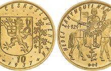 Nejdražší mince v Česku: Desetidukát vydražen za 17 820 000 korun!