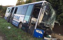 Zranil sebe a 6 cestujících!