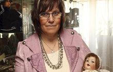 Jana (64) z Nýřan začala v 15 letech sbírat panenky, pak založila muzeum hraček!