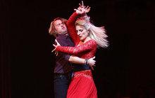 To je ale vášeň: Polívková opět tančila s Kurtišem!