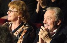 Velká oslava osmdesátin Karla Štědrého: Gotta hlídala tchyně!