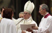 První Češku pokřtili ve Vatikánu!