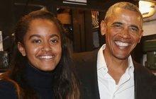 Tohle je fešák Obamovy dcery!