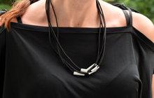 Paráda na krk může být i z hliníkových profilů: Originální náhrdelník!