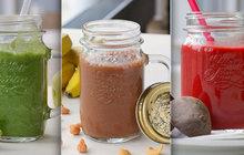 Smoothie, zdravý nápoj nejen na ráno: Vitaminové bomby!