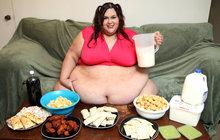 Nevídané! Baculka (28) váží 317 kilo a otěhotněla!