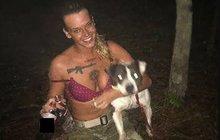 Bývalá vojačka rozstřílela svého psa a před soudem se zabila!