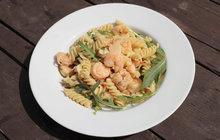 Vaříme cvalem s Michalem: Udělejte si fusilli s krevetami podle receptu šéfkuchaře!