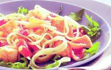 ITÁLIE NA TALÍŘI: Vynikající špagety s lososem a citronovou omáčkou!