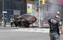Opilec vraždil autem na Times Square!