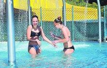 Díky letní pohodě v horkém Česku se mlsala zmrzlina a... Otevřela se koupaliště!
