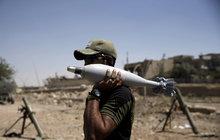 »Letecká pošta« mezi iráckou armádou a Islámským státem