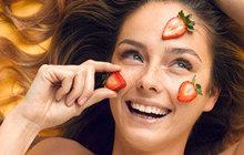 Přírodní kosmetika: Jahoda = krása i lahoda!