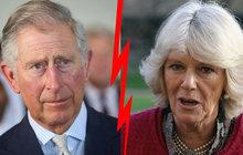 Camilla se rozvádí s Charlesem: Alkohol, výhrůžky a vulgarity!