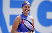 Kvitová před Fed Cupem: Hubeňour!