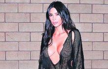 Kim Kardashian (36):  Na rande šla skoro nahá!
