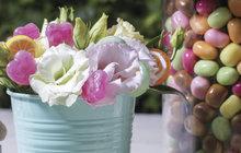 Dětská oslava: Zahrajte si na aranžérky a nachystejte svým potomkům překvapení z bonbonů a květin!