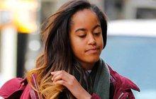 Obamova starší dcera Malia: Životní krok!