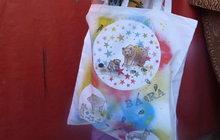 Dětská taška s razítky: Třeba na přezůvky do školy!