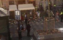 Teroristický útok v Barceloně: Dodávkou zabíjeli lidi!