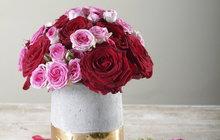Klasika z růží: Naučte se květinovou vazbu zase trochu jinak, tzv. biedermeierovský typ!