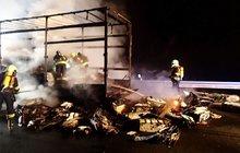 Oheň zničil 200 kočárků!