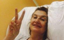 Holubová (58) po operaci: Už je po všem!
