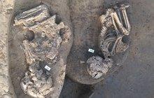 Archeologové v Předmostí na Přerovsku odkryli unikátní hroby: Kostry dětí  pohřbené  ve spižírně!
