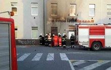 Nehoda motorky zapálila dům!