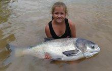 Nikol (9) ulovila výstavní kousek: Tak vypadá rybářské štěstí!