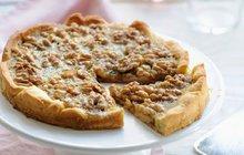 DARY PODZIMU: Rafinovaný dort s hrozny a ořechy!